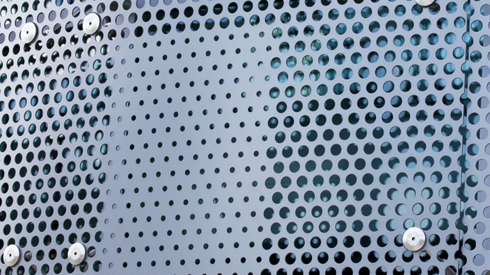 Perforated Metal Building Panels