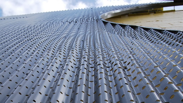 Perforated and Corrugated Metal Panels