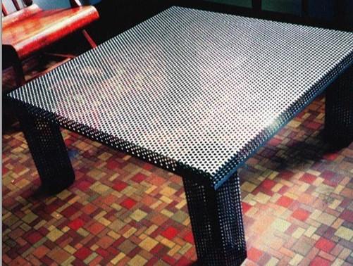 Perforated Aluminum