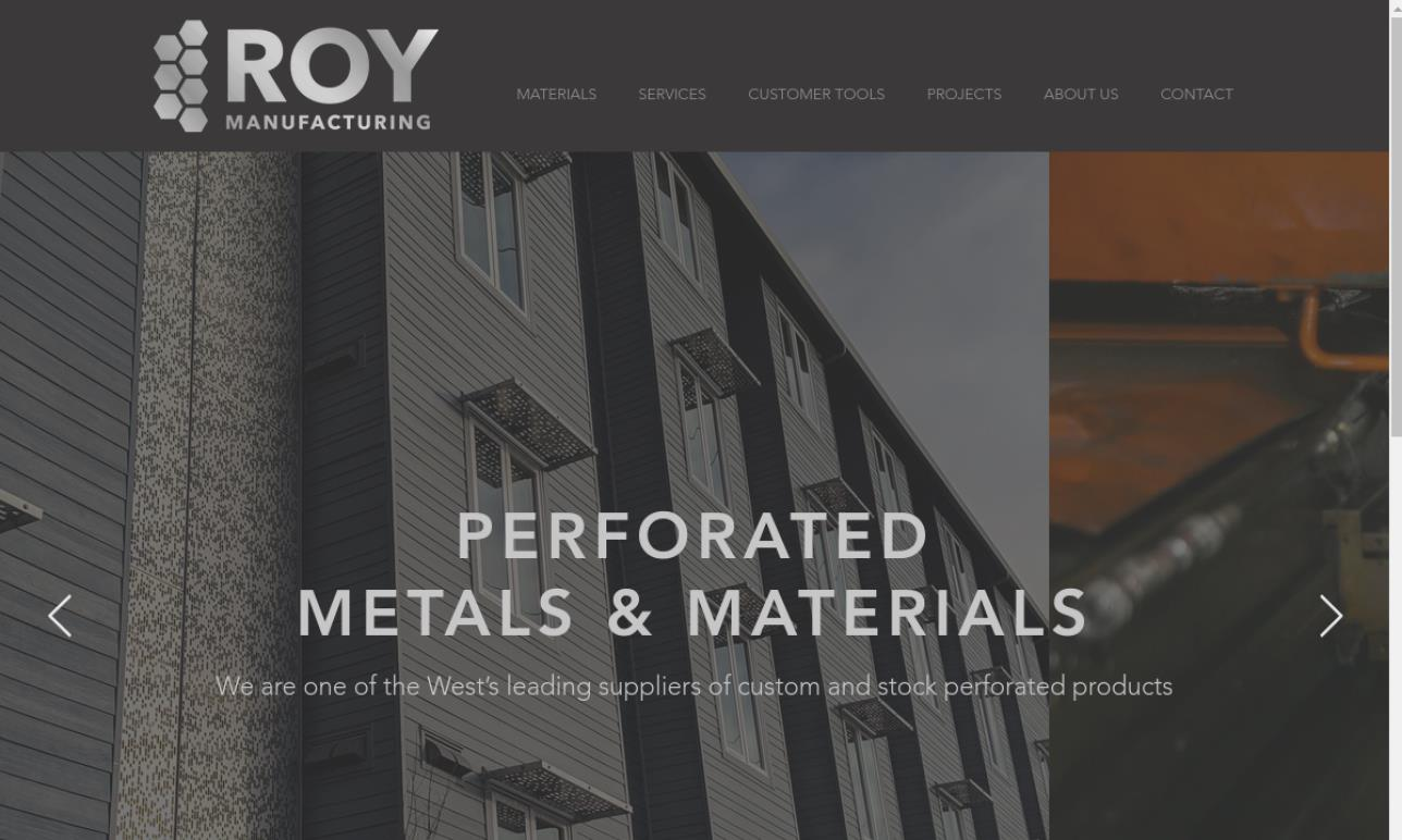 Roy Manufacturing Co., Inc.