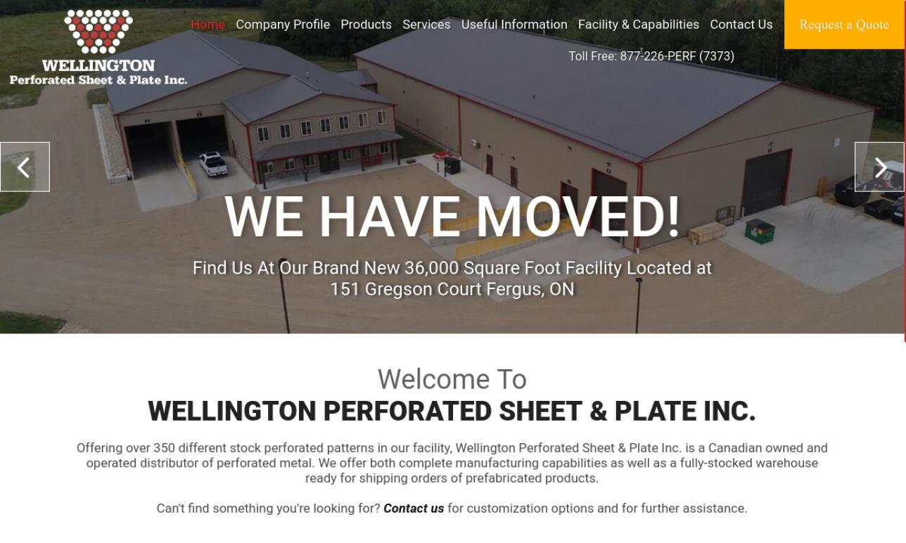 Wellington Perforated Sheet & Plate, Inc